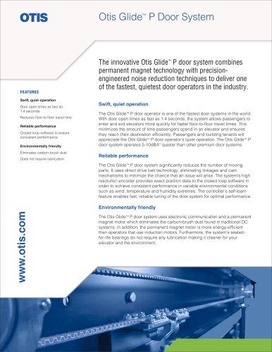Otis GlideTM P Door System