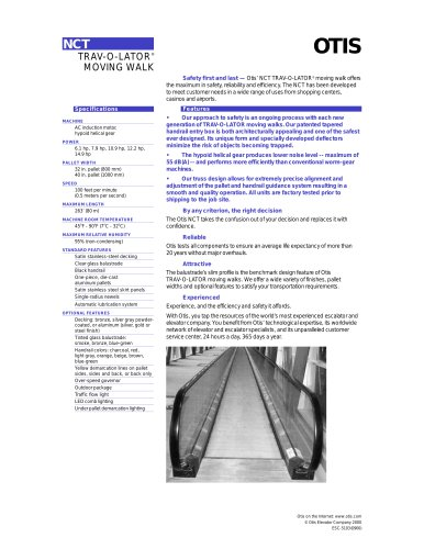 TRAV-O-LATOR® MOVING WALK