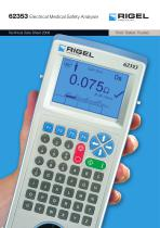 Rigel 62353 Electrical Safety Analyser