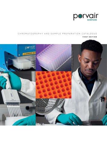 Porvair Chromatography Catalogue