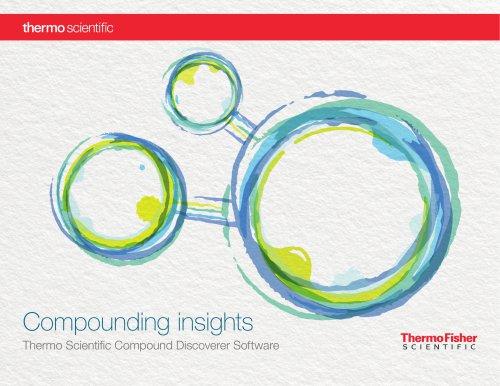 Compound Discoverer Software
