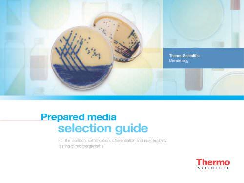 European Prepared Media Selection Guide