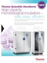 Heratherm Large Capacity Microbiological IncubatorS
