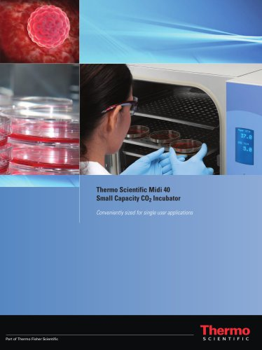 Midi 40 Small Capacity CO2 Incubator Brochure