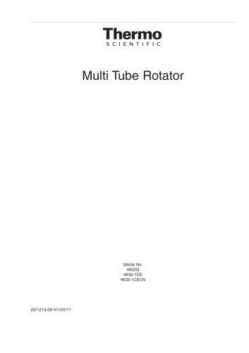Multi Tube Rotator