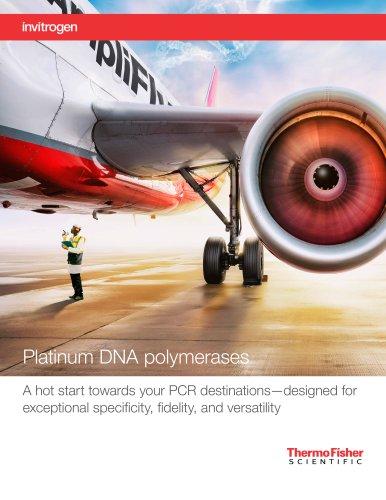 Platinum DNA polymerases