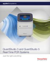 QuantStudio 3 and QuantStudio 5 Real-Time PCR Systems