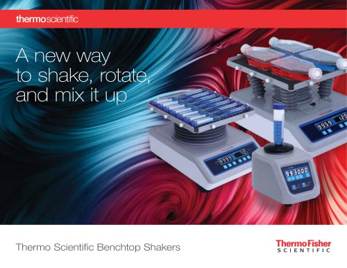 Thermo Scientific Benchtop Shakers