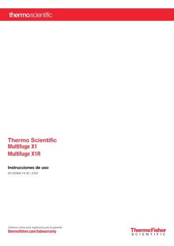 Thermo Scientific Multifuge X1 Multifuge X1R