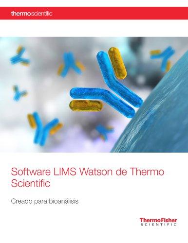 Watson LIMS Software – Built for Bioanalysis