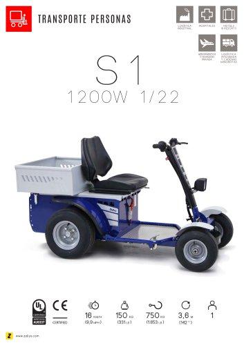 S1 vehículo eléctrico trasporte personal