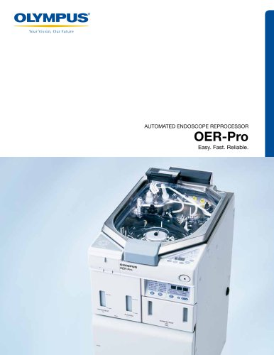 OER-Pro: AUTOMATED ENDOSCOPE REPROCESSOR