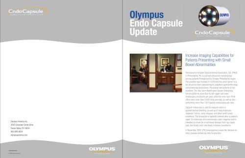 Olympus Endo Capsule Update