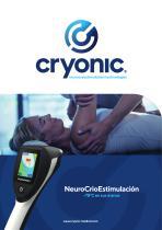 Cryoscreen para los tratamientos therapeuticos y de deporte