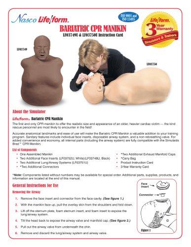 Bariatric CPR Manikin