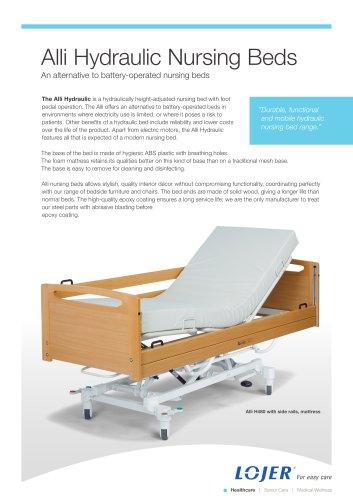 Alli Hydraulic Nursing Beds