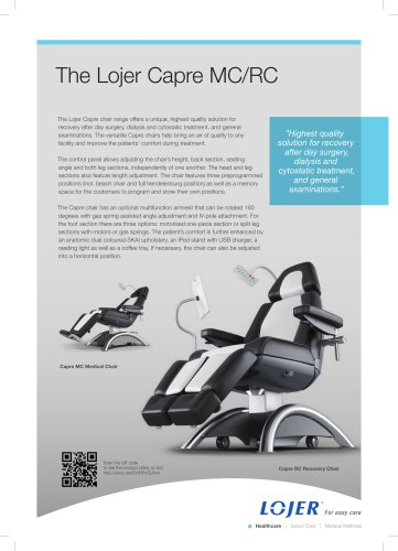 Capre MC Medical Chair