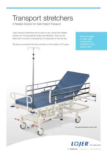 Transport stretchers