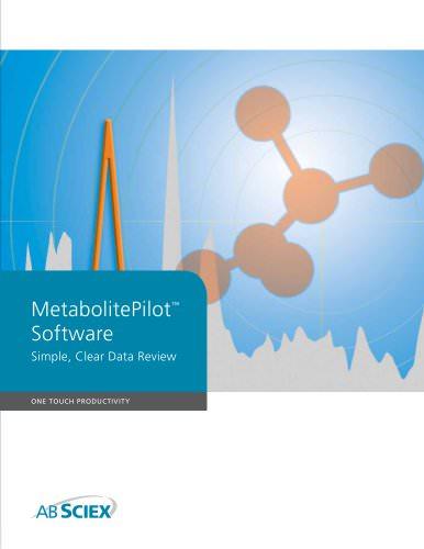 MetabolitePilot Software
