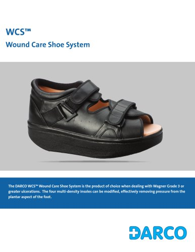WCS™ Wound Care Shoe System