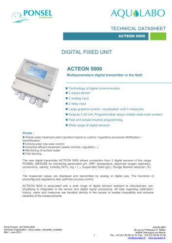 DIGITAL FIXED UNIT ACTEON 5000