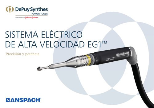 SISTEMA ELÉCTRICO  DE ALTA VELOCIDAD EG1