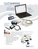 Nasiff CardioCard® PC Based Resting ECG System Wireless X