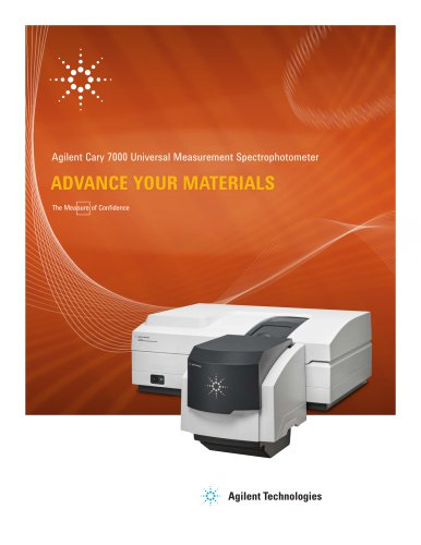 Cary 7000 Universal Measurement Spectrophotometer