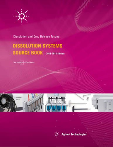 Dissolution Systems Source Book 2011-2012 Edition
