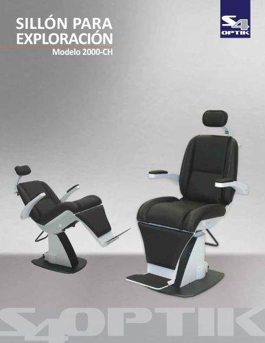 SILLÓN PARA EXPLORACIÓN Modelo 2000-CH