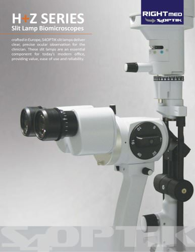 SL-Z2 Slit Lamp