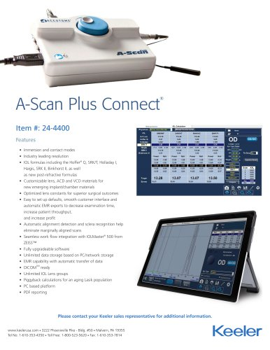A-Scan Plus Connect Flyer