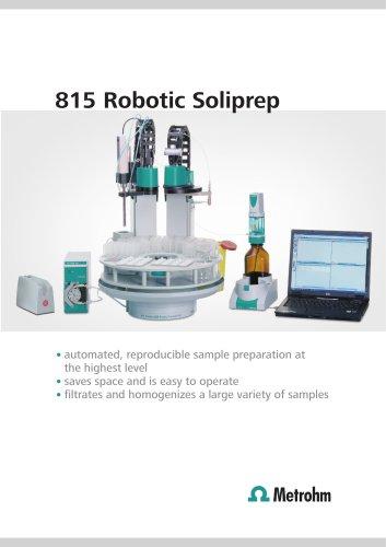 815 Robotic Soliprep
