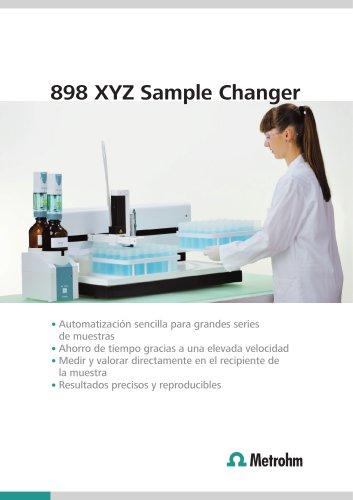 898 XYZ Sample Changer