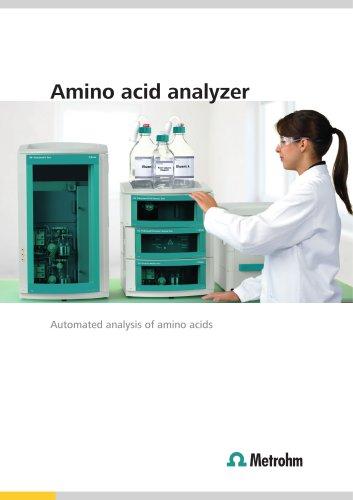 Amino acid analyzer