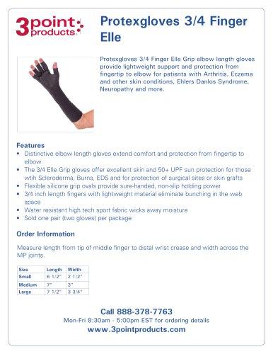 Protexgloves 3/4 Finger Elle