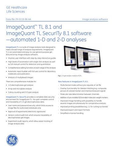 ImageQuant TL 8.1