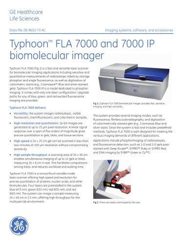 Typhoon FLA 7000 biomolecular imager