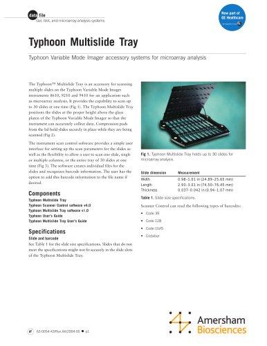 Typhoon Multislide Tray