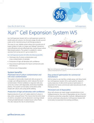 Xuri™ Cell Expansion System W5