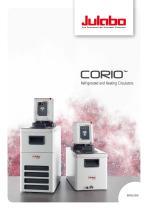 JULABO CORIO Laboratory Circulators Brochure