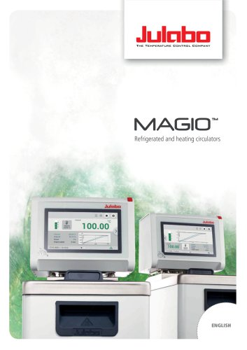 MAGIO Refrigerated and heating circulators