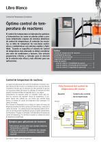 Óptimo control de temperatura de reactores