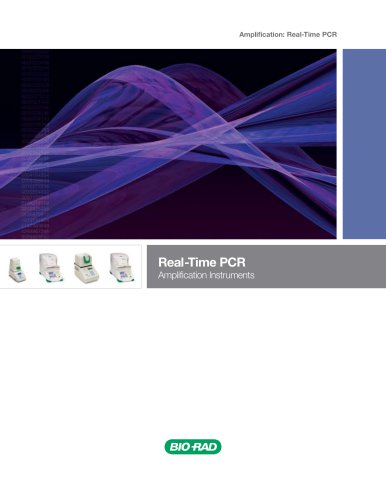 Real-Time PCR Amplification Instruments
