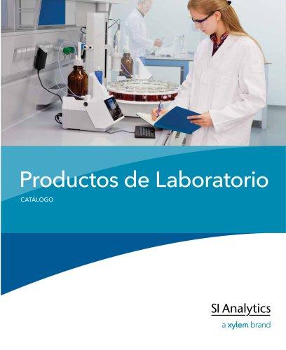 Catálogo Productos de Laboratorio