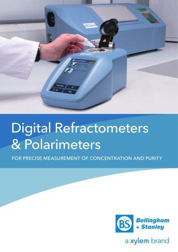 Digital Refractometers & Polarimeters