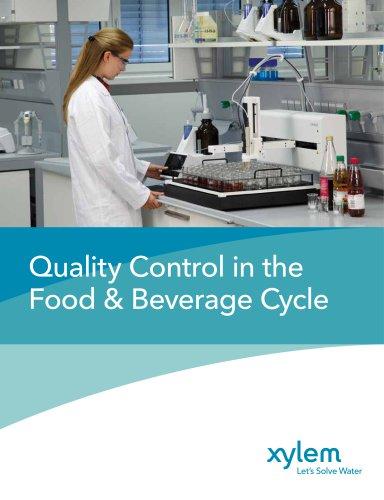 Xylem Analytics FoodBeverage