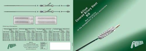 Allium™ Covered Biliary Stent BIS