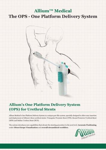 Allium™ Medical TheTPS –Triangular Prostatic Stent