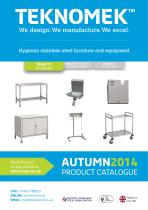 Teknomek Autumn product catalogue 2014